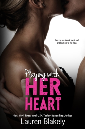 NEW! Cover for 'Playing With Her Heart'